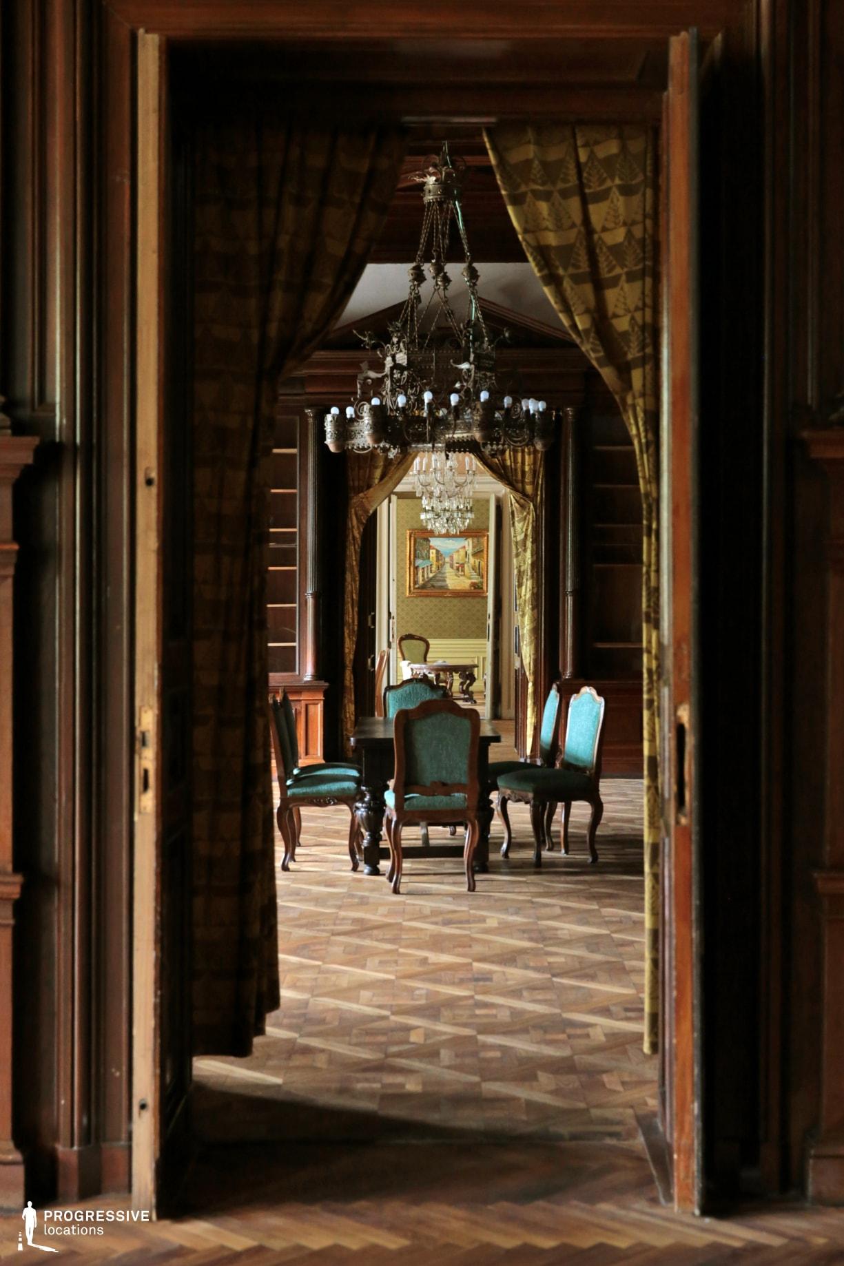 Locations in Hungary: Parketry Salon, Wenckheim Palace