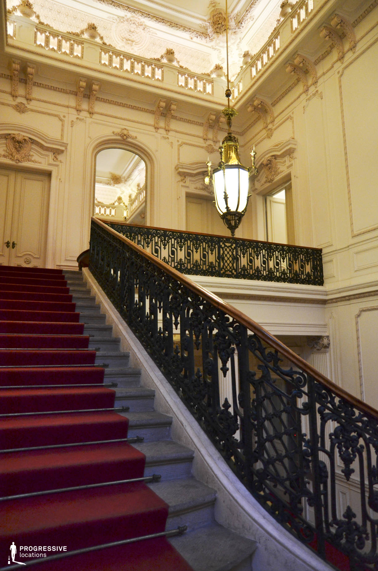 Locations in Hungary: Staircase, Festetics City Palace