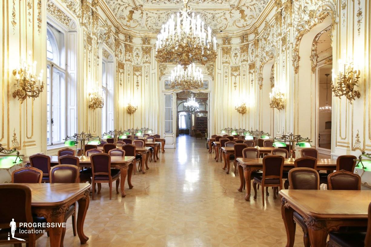 Locations in Hungary: Ballroom, Wenckheim Palace