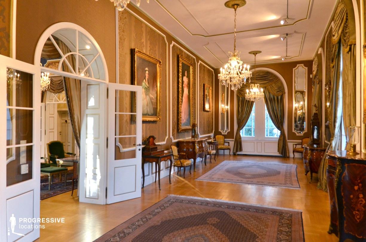 Locations in Hungary: Ballroom, Ybl Mansion
