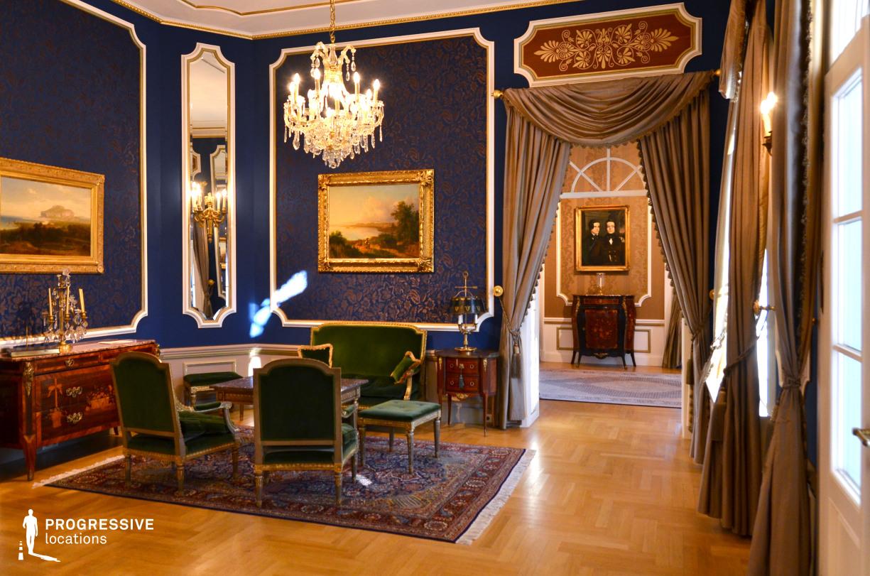 Locations in Hungary: Salon, Ybl Villa