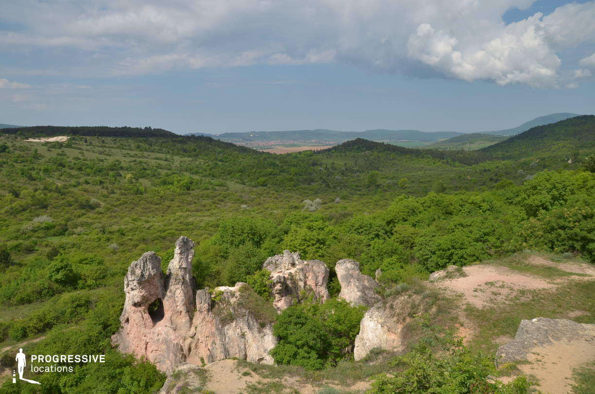 Locations in Hungary: Panorama, Pilis Rock