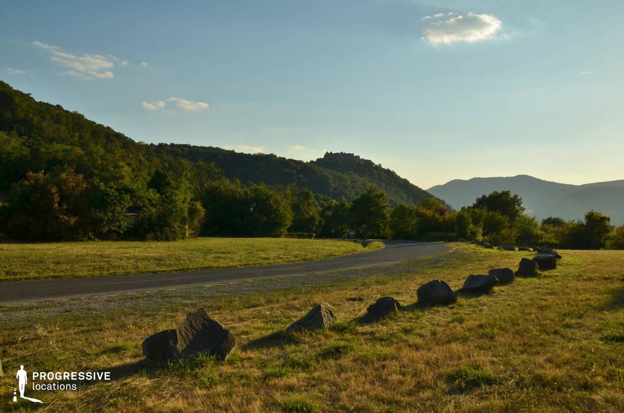 Locations in Hungary: Hillside Curve, Visegrad
