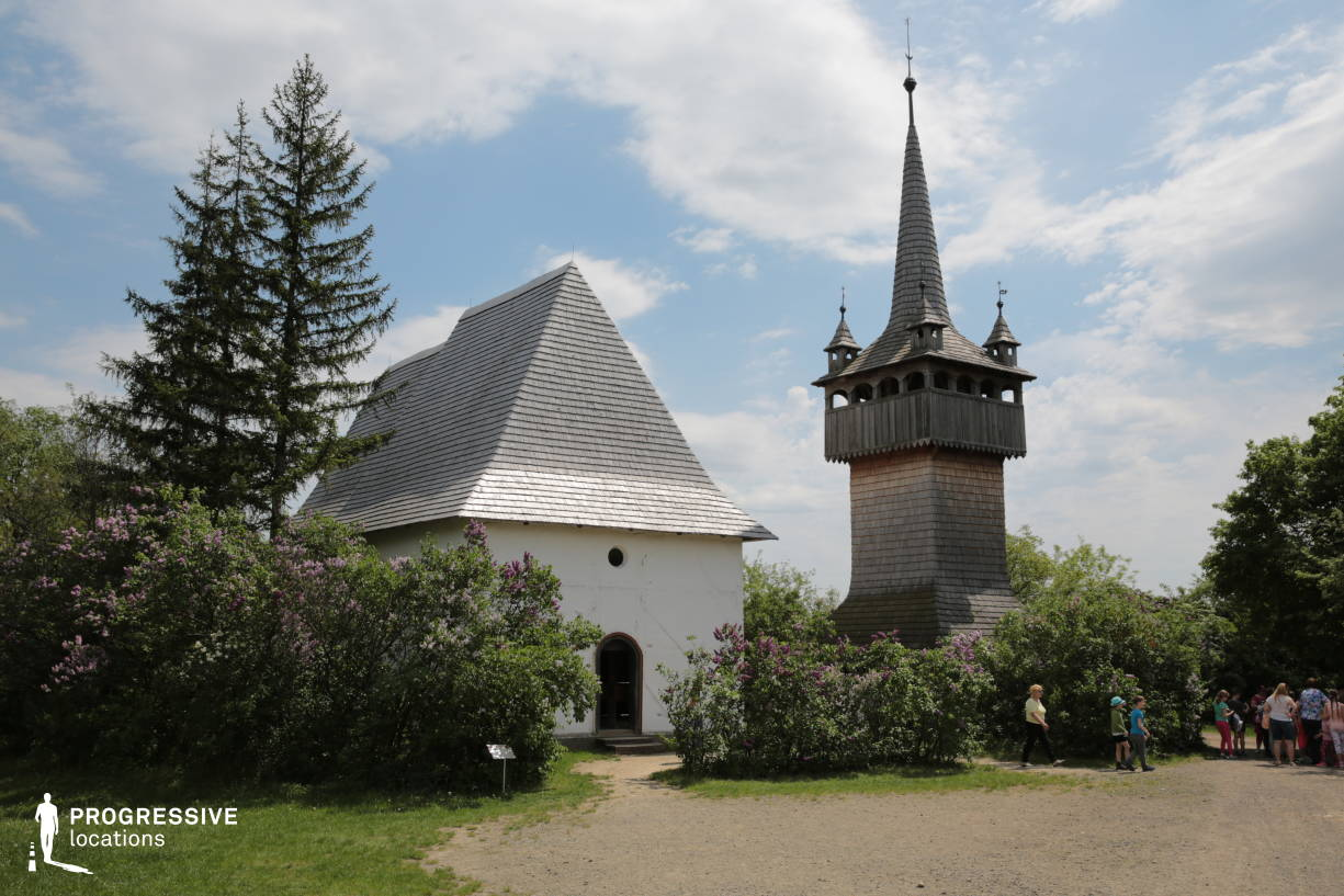 Locations in Hungary: Wooden Tower Church, East Hungary
