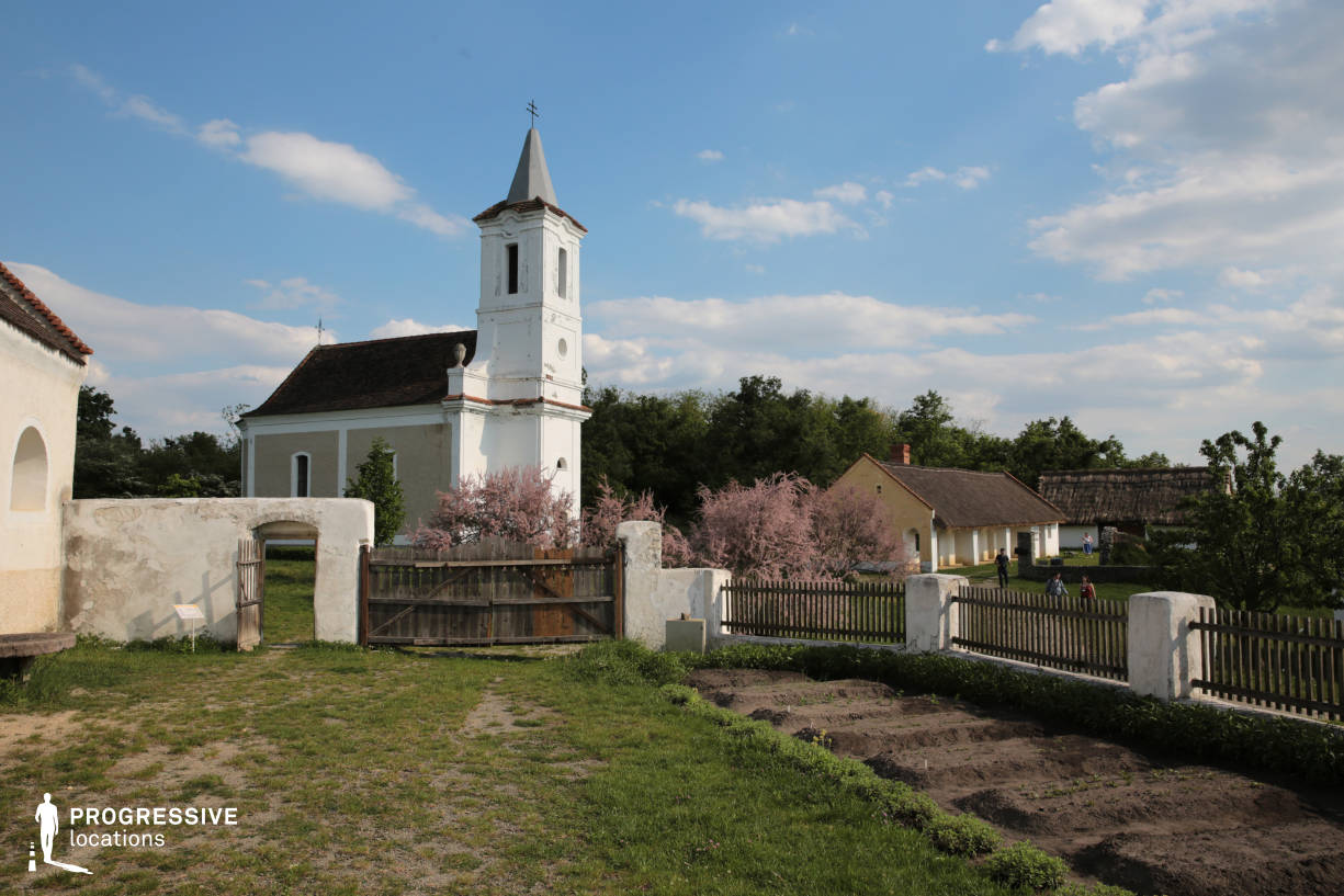 Locations in Hungary: Garden %26 Church, Balaton Area