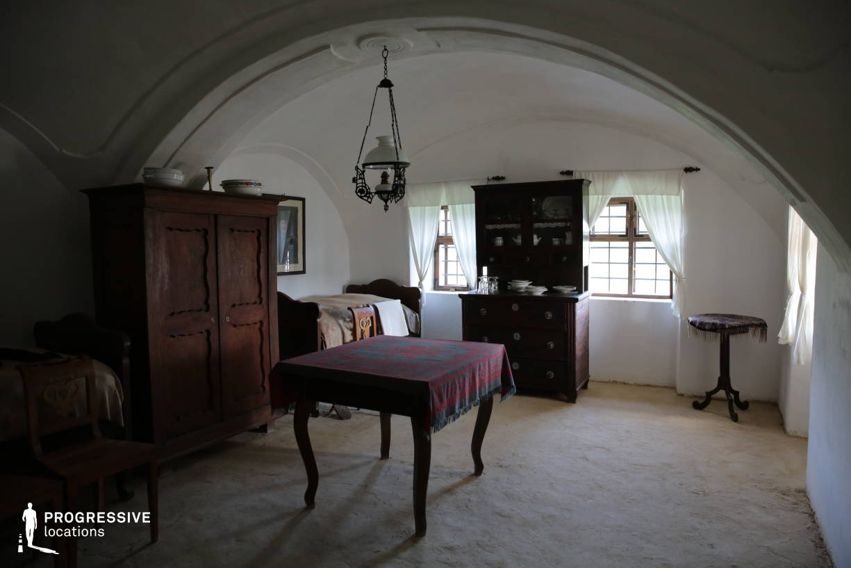 Locations in Hungary: House Interior, Arched Ceiling