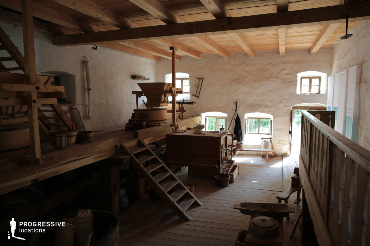 Locations in Hungary: Mill Workshop, Szentendre