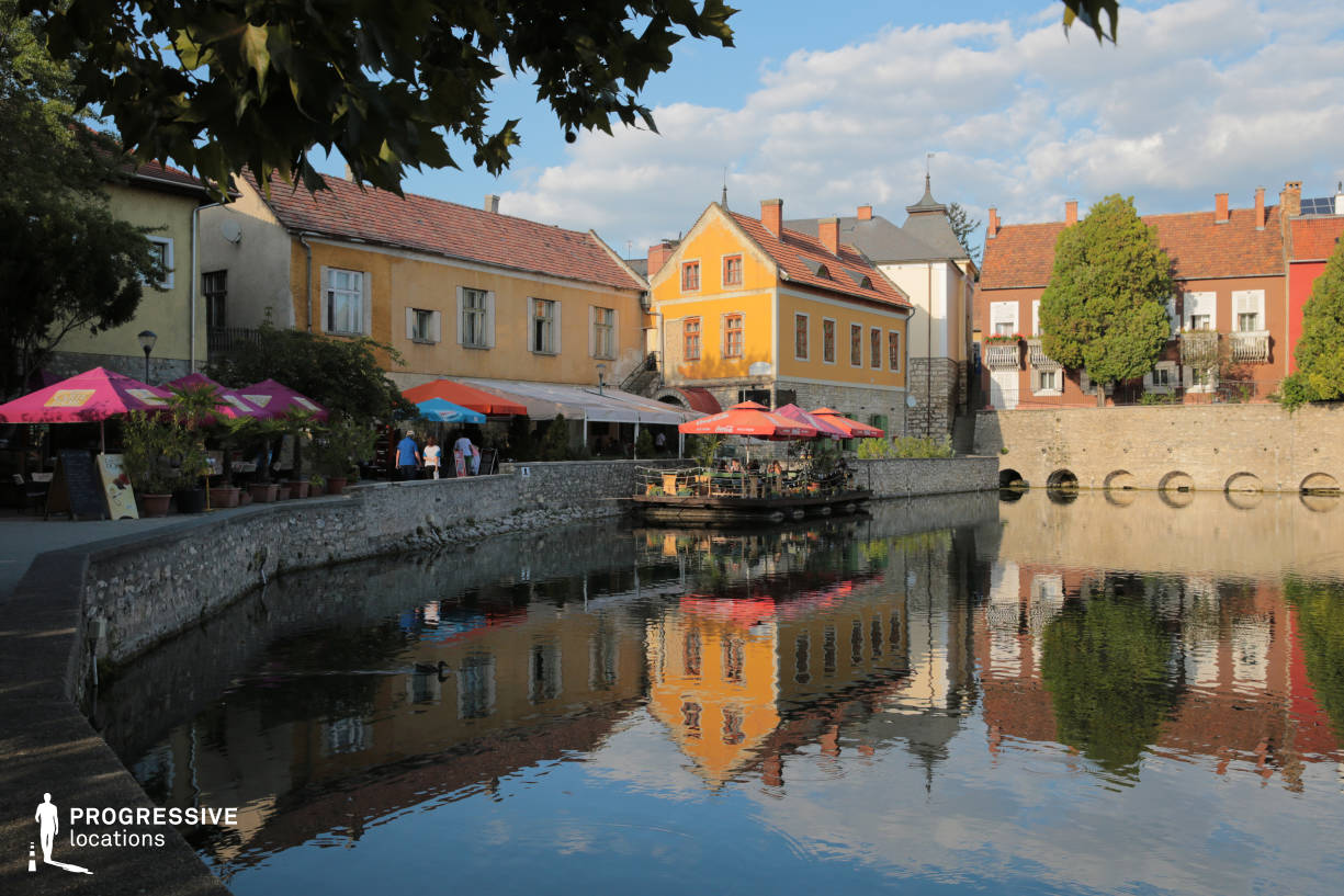 Locations in Hungary: Old Town, Tapolca