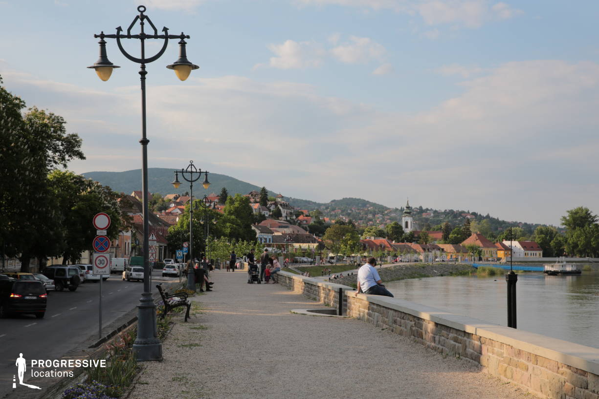 Locations in Hungary: River Promenade, Szentendre