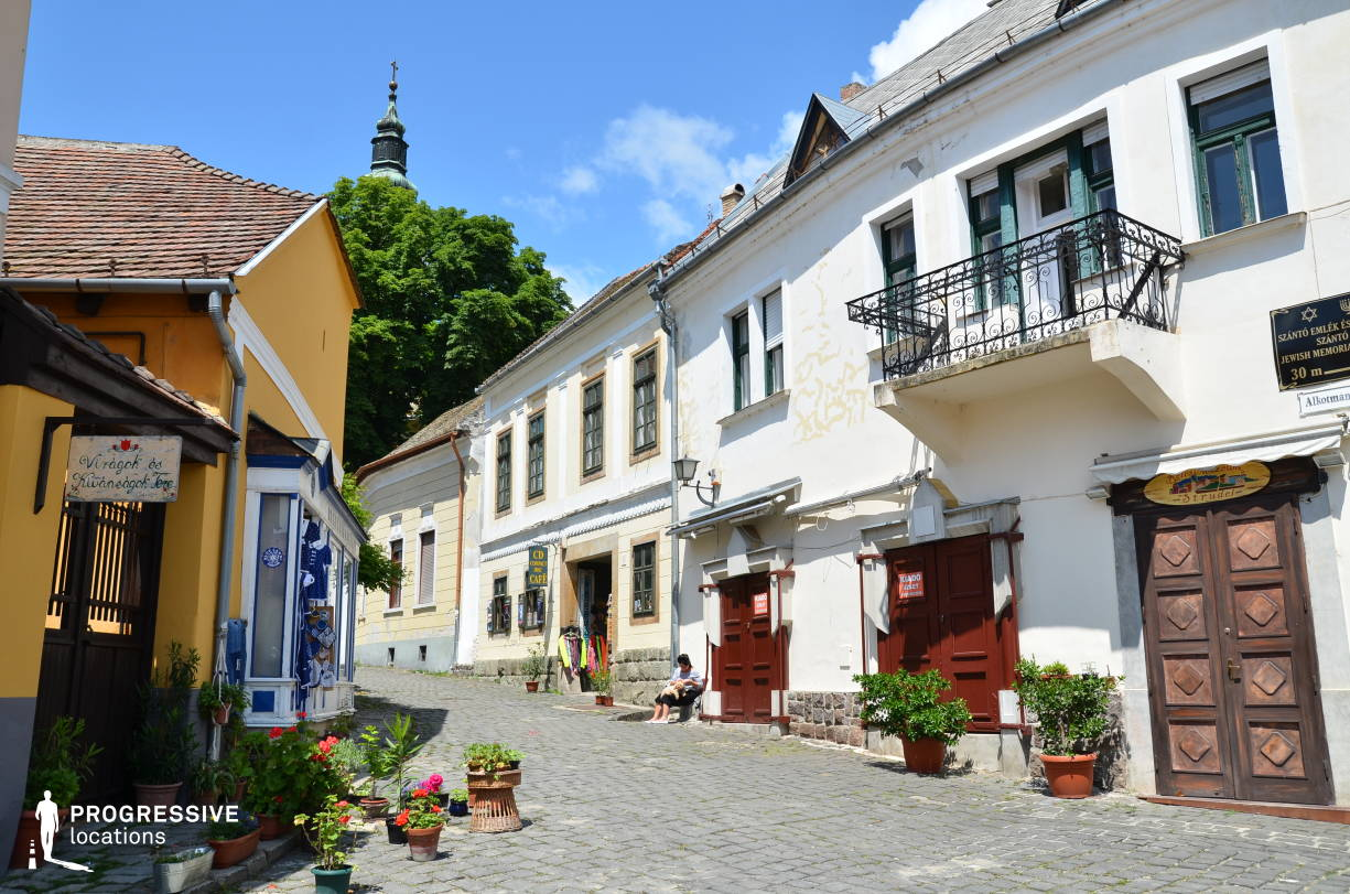 Locations in Hungary: Small Square, Szentendre