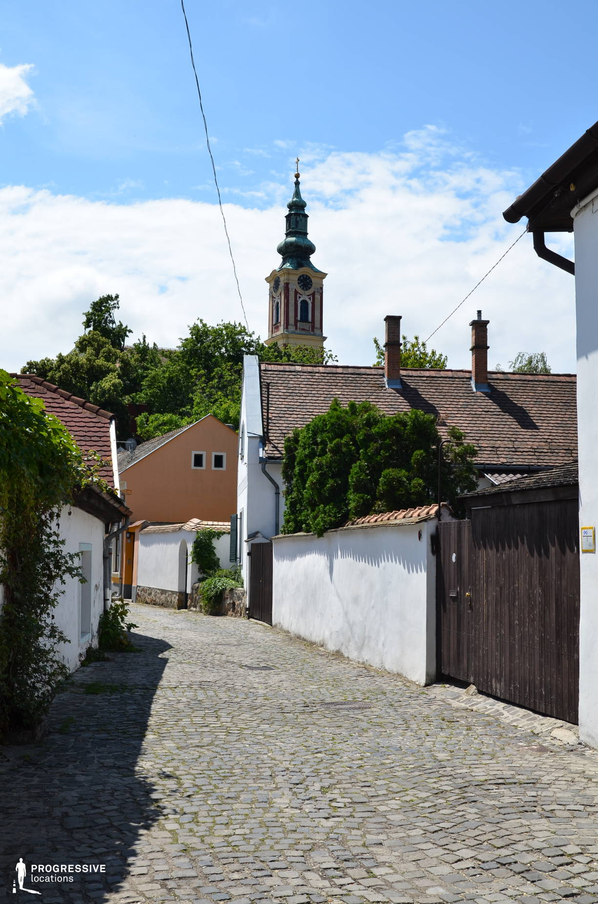Locations in Hungary: Village Street, Szentendre