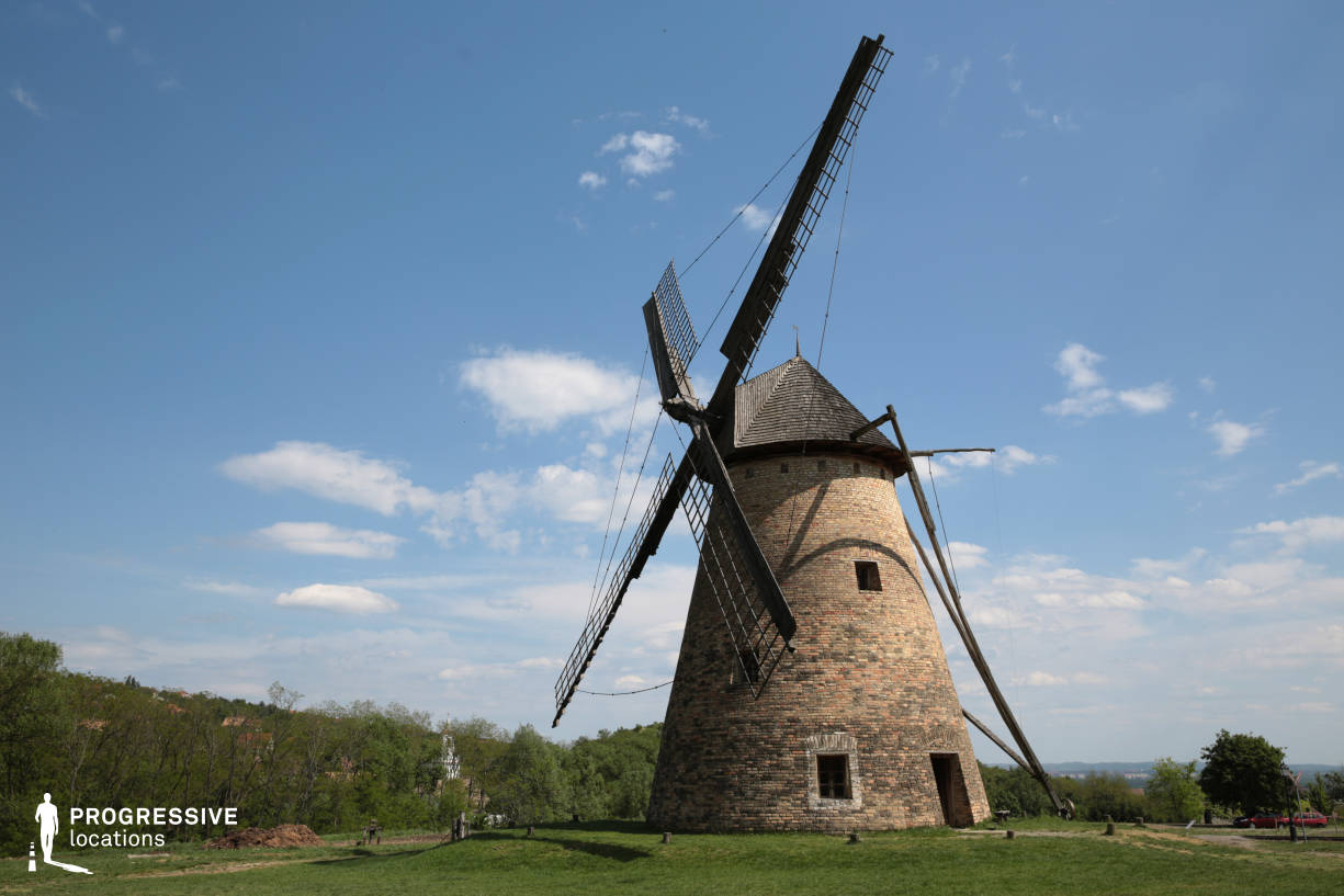 Locations in Hungary: Windmill, Szentendre