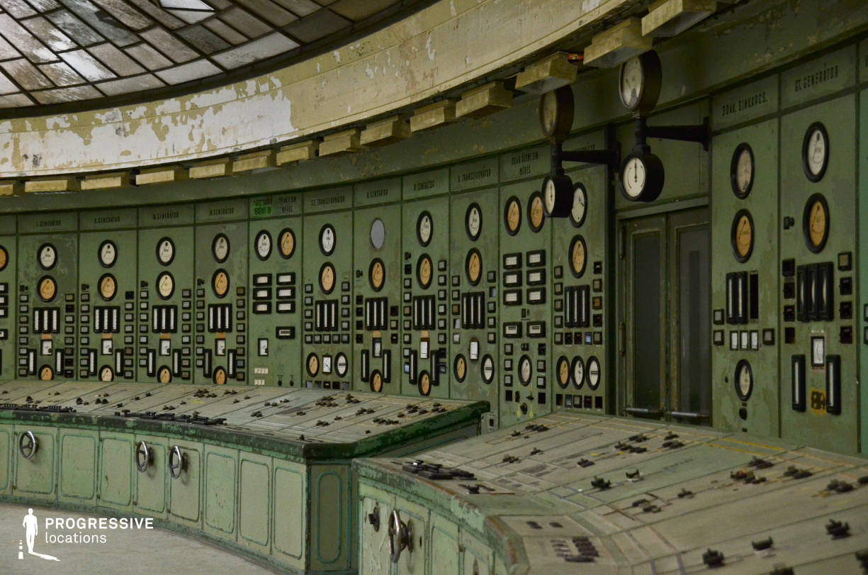 Locations in Hungary: Control Panel, Power Plant , Kelenfold
