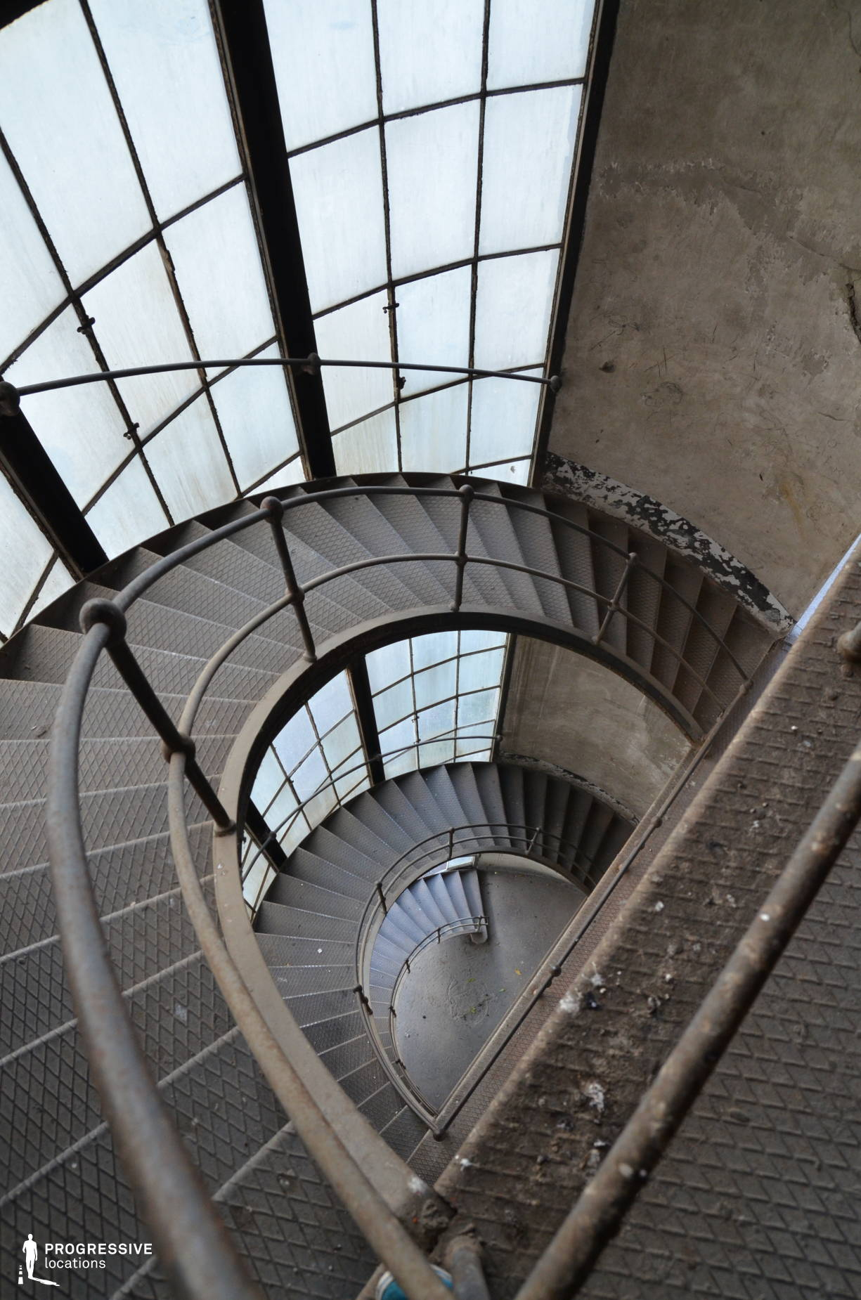 Locations in Hungary: Iron %26 Glass Main Staircase, Power Plant, Kelenfold
