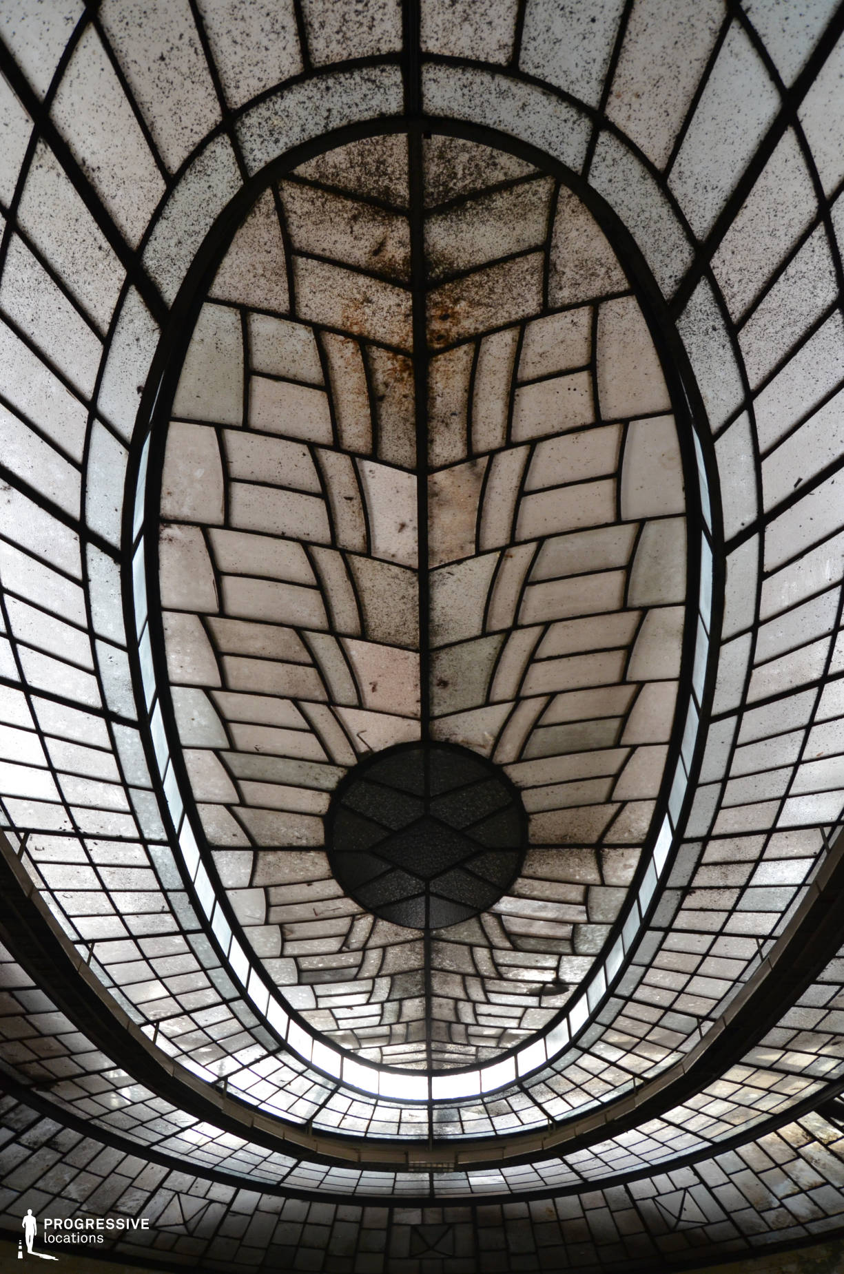 Locations in Hungary: Oval Glass Roof, Power Plant, Kelenfold