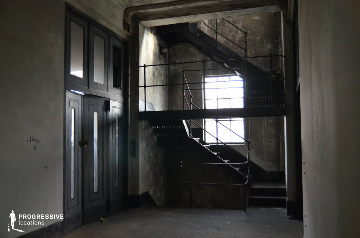 Locations in Hungary: Side Staircase, Power Plant, Kelenfold