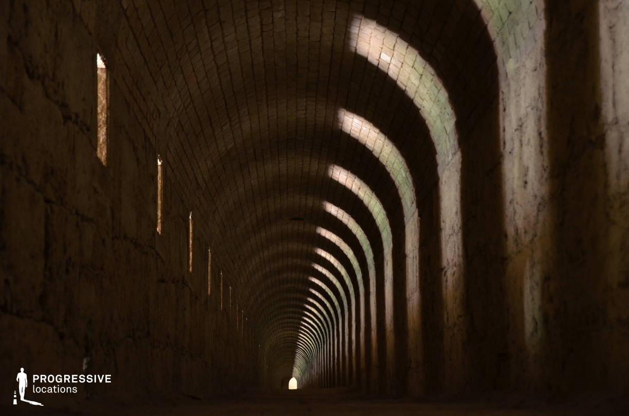 Locations in Hungary: Dungeon Corridor, Monostor Fortress
