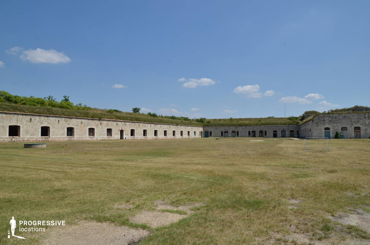 Locations in Hungary: Military Basecamp, Monostor Fortress