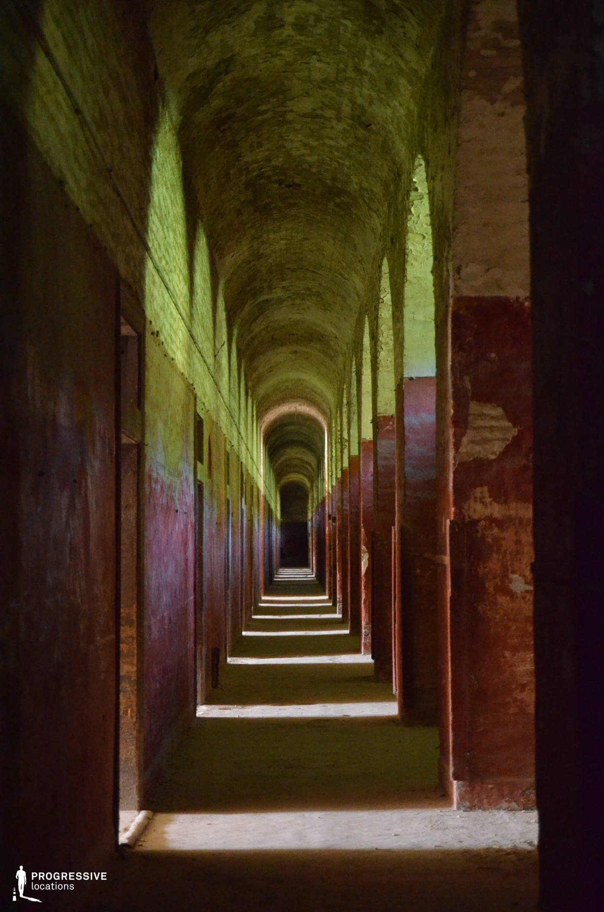 Locations in Hungary: Military Crew Corridor, Monostor Fortress