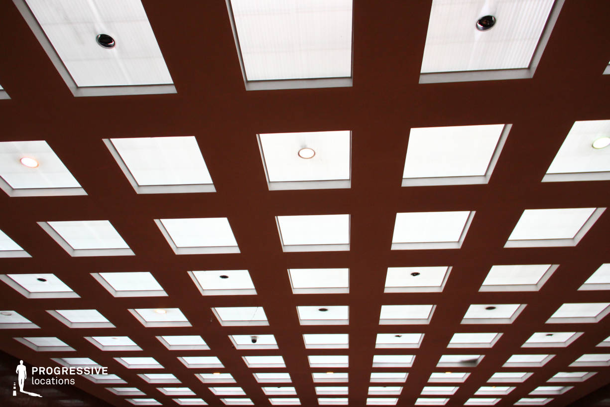 Locations in Hungary: Glass Ceiling, Red Marble Hall