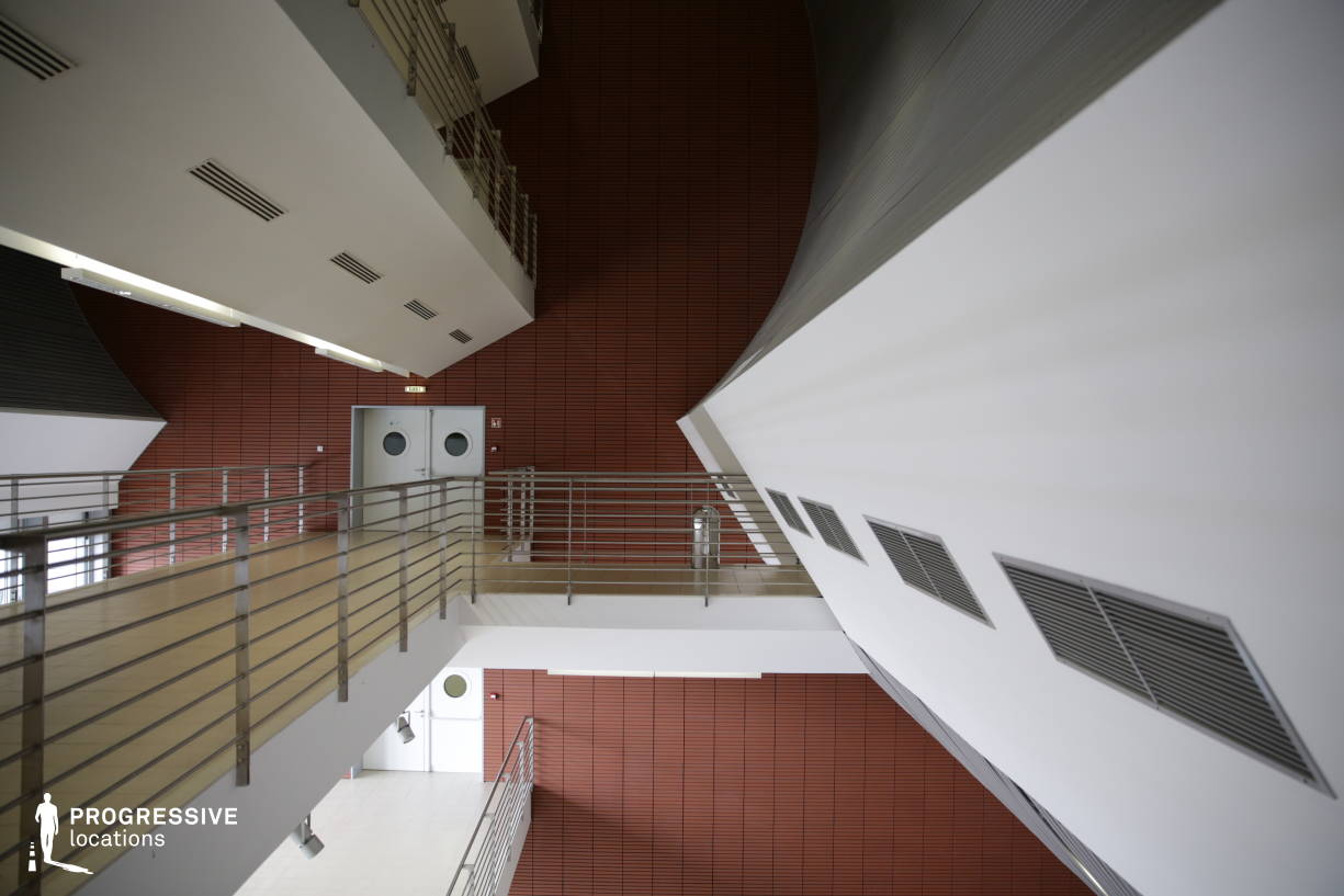 Locations in Hungary: Sci-Fi Corridor (Side View)