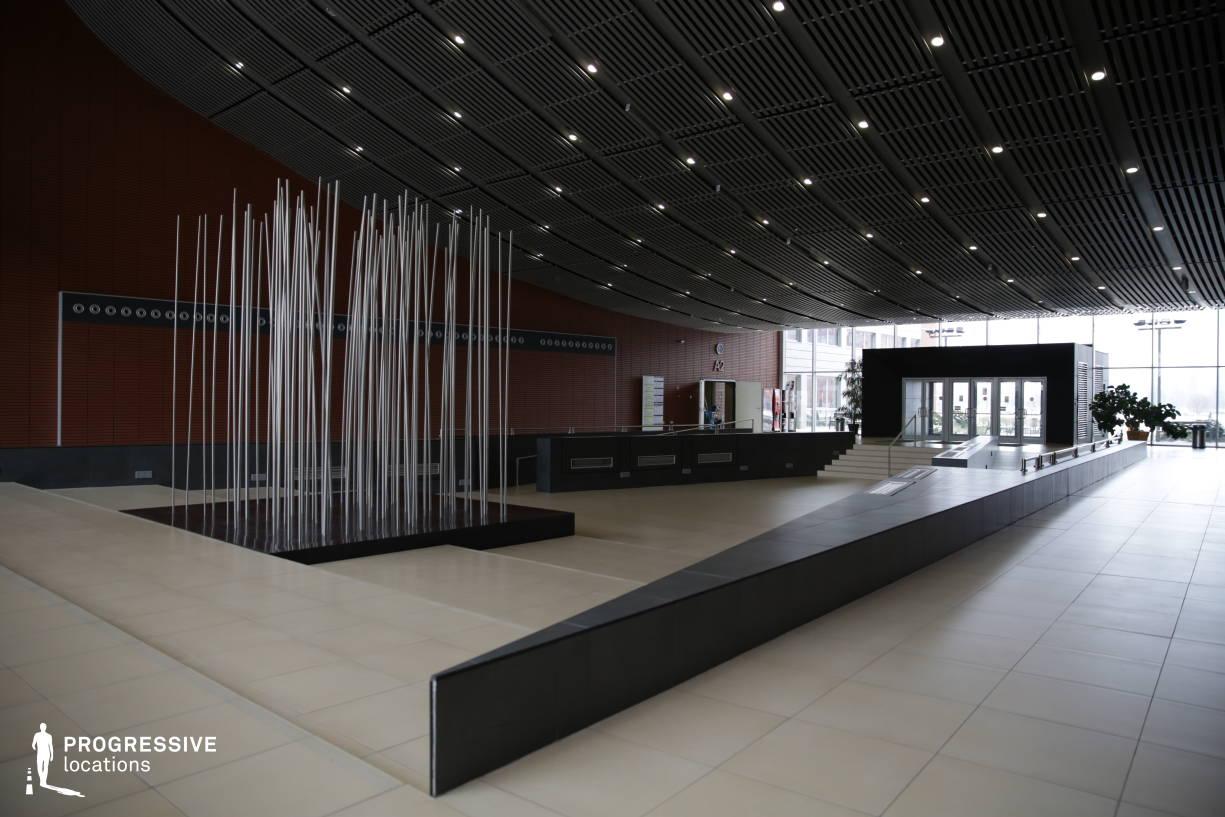 Locations in Hungary: Entrance Hall, Sci-Fi Corridor