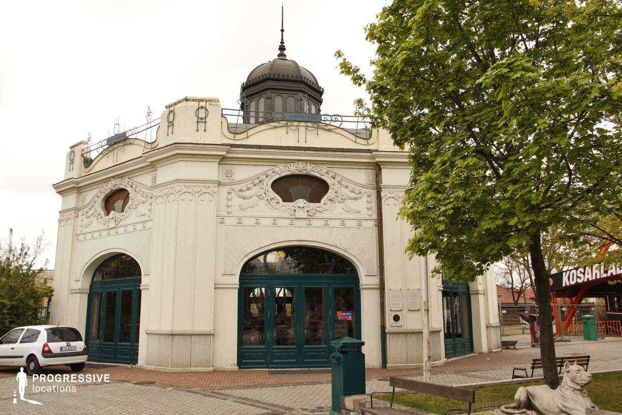 Locations in Hungary: Art Nouveau Exterior, Vintage Carousel