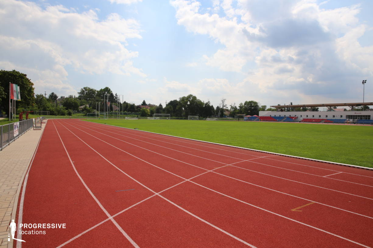 Locations in Hungary: Running Track %26 Football Filed, Ikarus Athletic Center