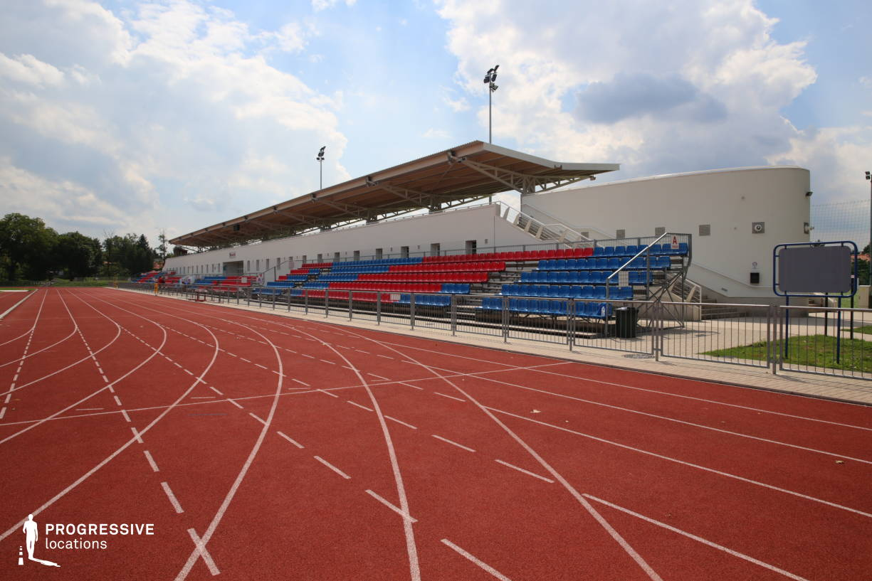 Locations in Hungary: Modern Running Track, Ikarus Athletic Center