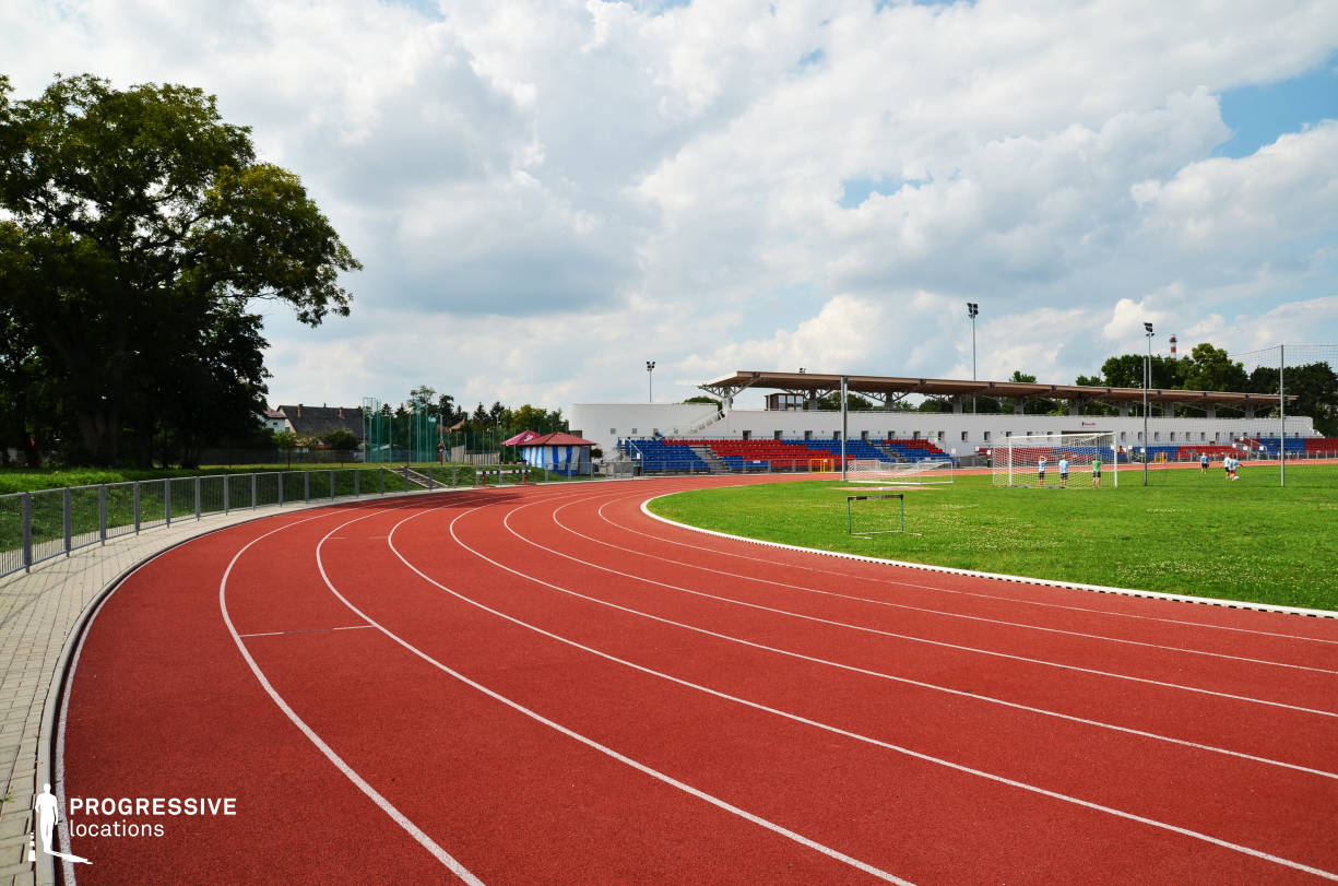 Locations in Hungary: Running Track, Ikarus Athletic Center