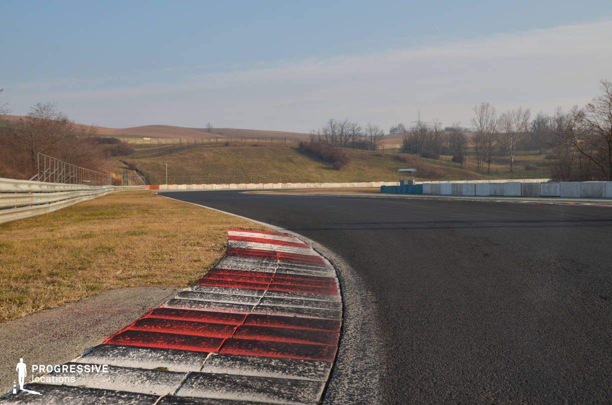 Locations in Hungary: Race Track, Hungaroring (Detail)