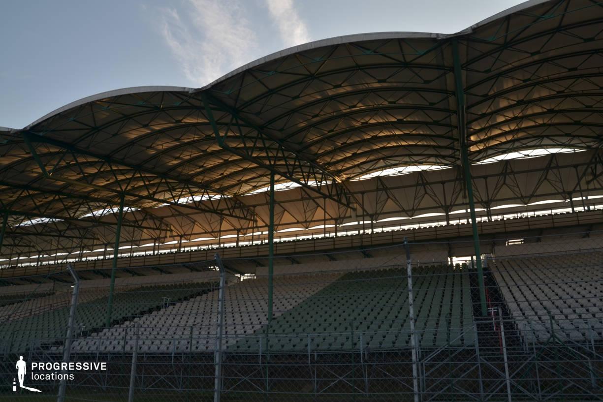 Locations in Hungary: Tribunes Hungaroring