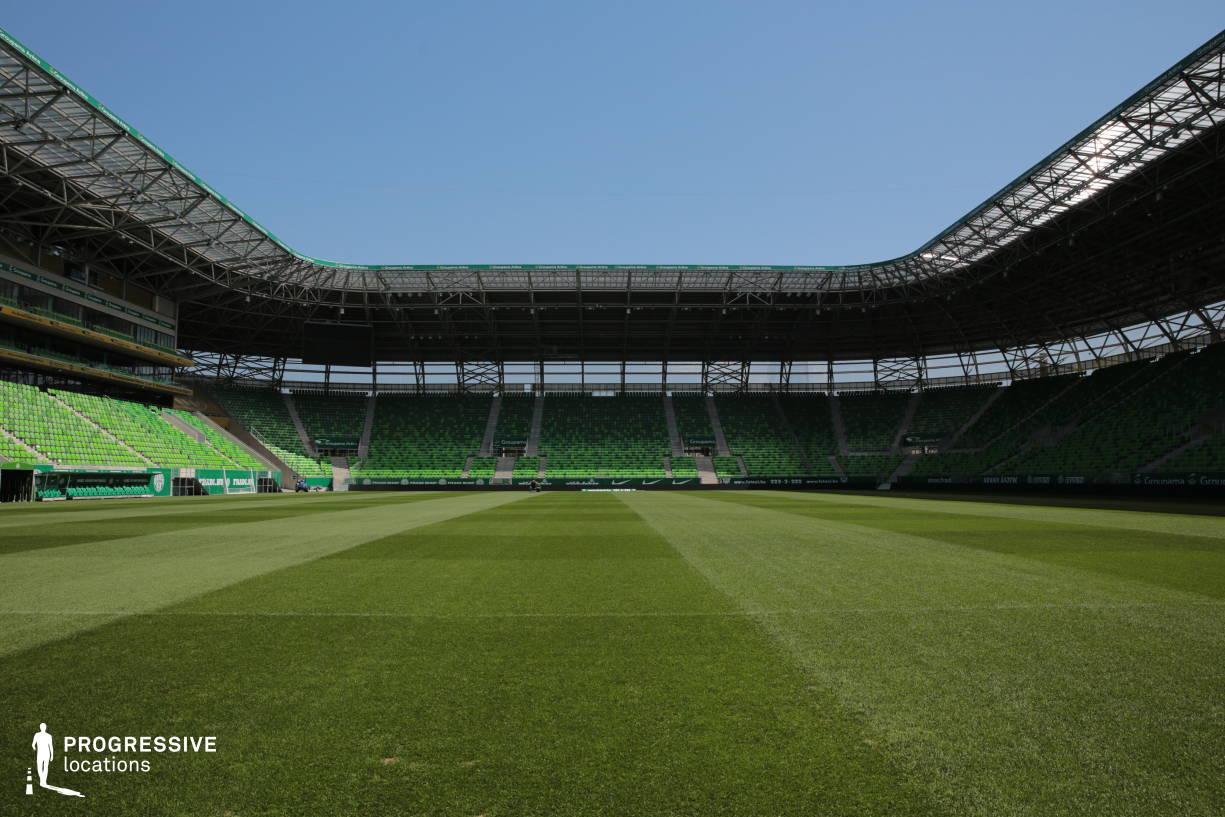 Locations in Hungary: Football Field, Fradi Stadium