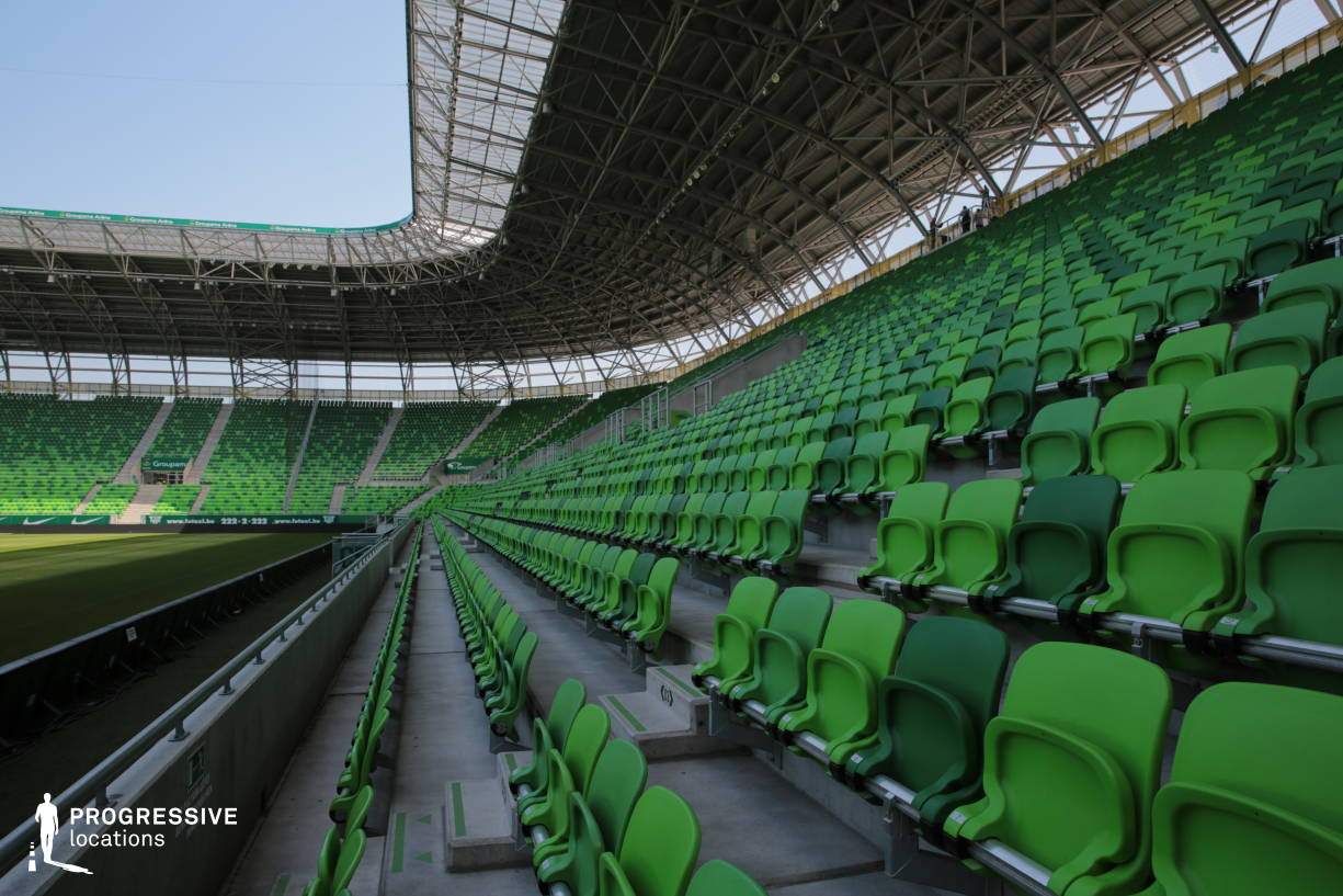 Locations in Hungary: Tribune Seats, Fradi Stadium