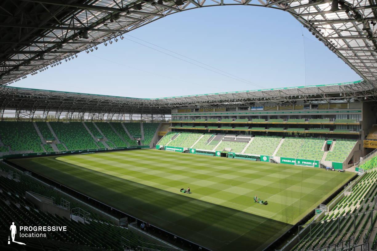 Locations in Hungary: Fradi Stadium (Wide Shot)