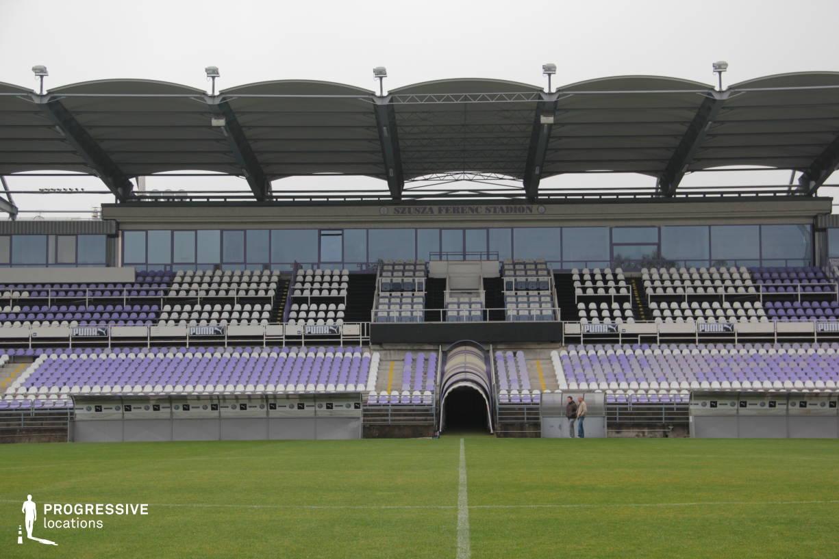 Locations in Hungary: Main Building, Szusza Stadium