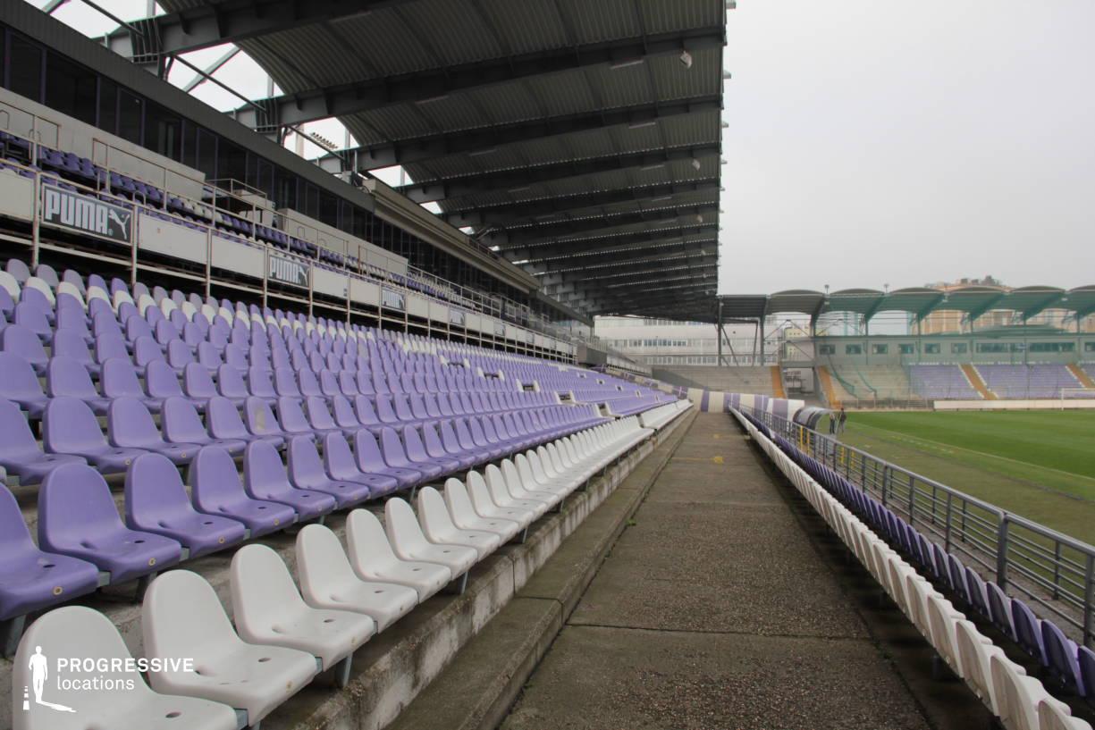 Locations in Hungary: Tribune Setas, Szusza Stadium