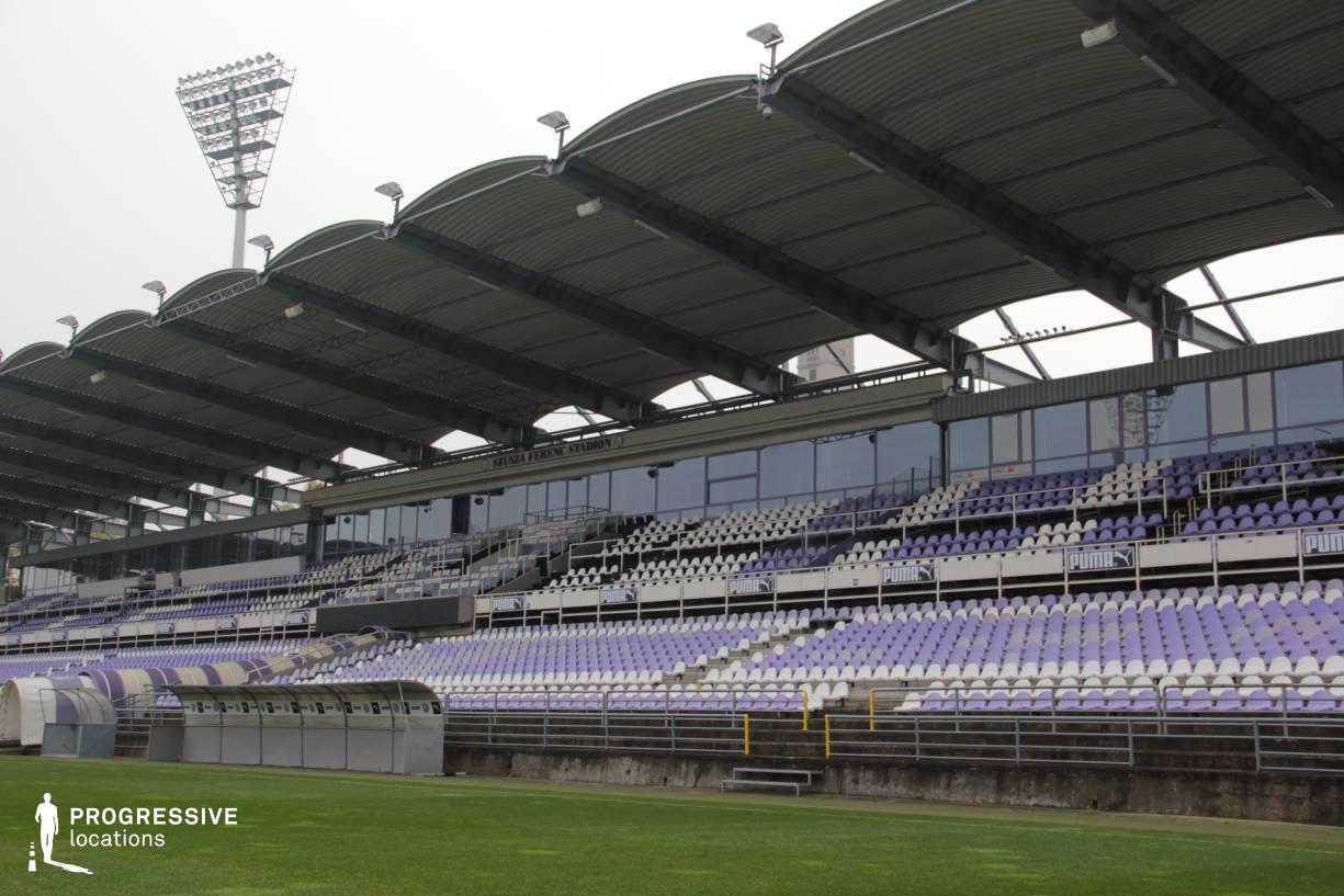 Locations in Hungary: Tribune, Szusza Stadium