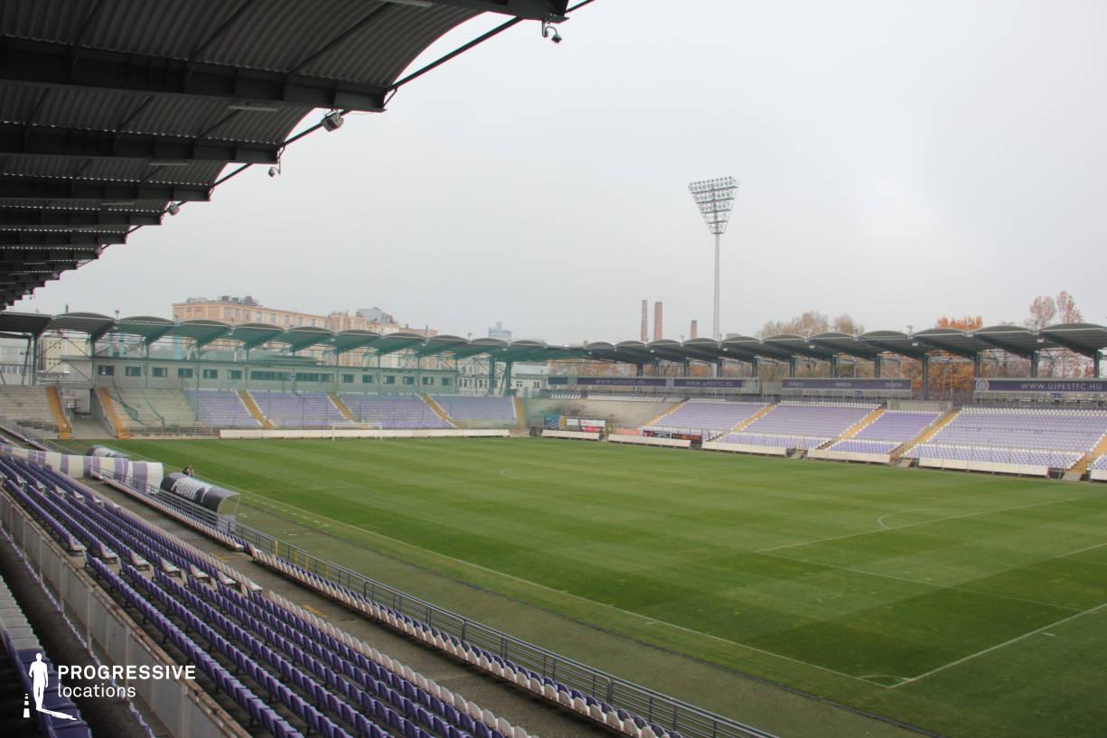 Locations in Hungary: Szusza Stadium