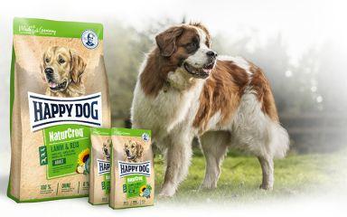 Akce Happy Dog NaturCroq + 2 kg NAVÍC
