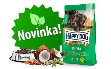 Novinka! Vegetariánské krmivo pro psy! Sensible INDIA