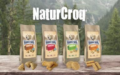 Připravujeme nové pečené pamlsky NaturCroq