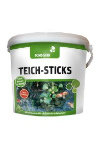 Pond Star Teich-Sticks 5 l PE kbelík 600 g