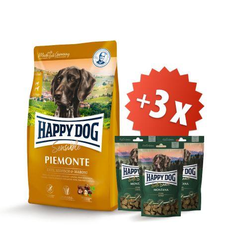 AKCE Piemonte 10 kg + 3 x Soft Snack Montana 100 g