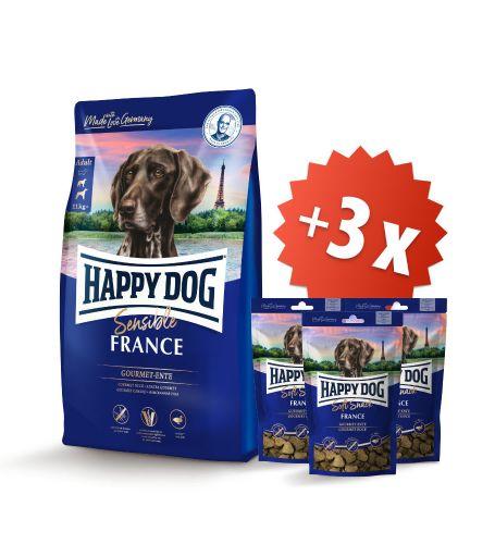 AKCIA France 12,5 kg + 3 x Soft Snack France 100 g