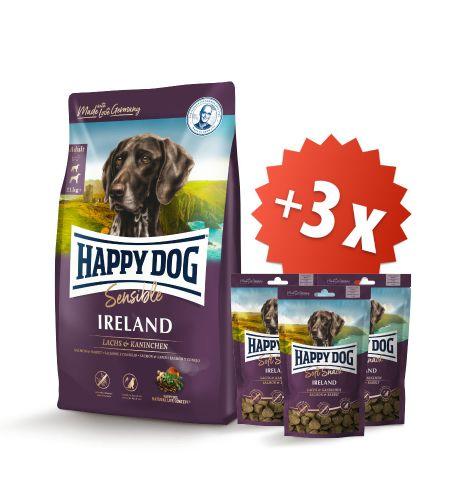 AKCE Ireland 12,5 kg + 3 x Soft Snack Ireland 100 g
