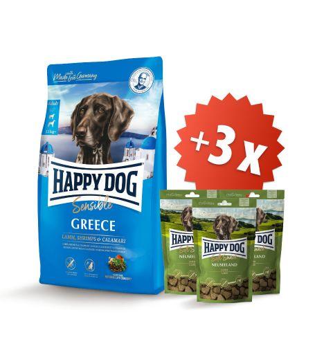 AKCE Greece 11 kg + 3 x Soft Snack Neuseeland 100 g