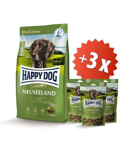 AKCE Neuseeland 12,5 kg + 3 x Soft Snack Neuseeland 100 g