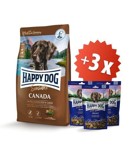 AKCE Canada 12,5 kg + 3 x Soft Snack France 100 g