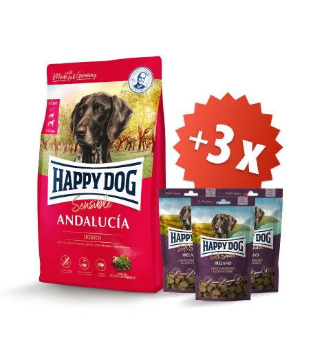 AKCE Andalucía 11 kg + 3 x Soft Snack Ireland 100 g